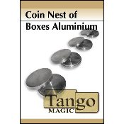 Coin nest of Boxes Aluminum by Tango
