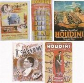 Houdini Poster Set of 5