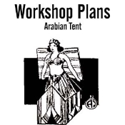 Arabian Tent Plans Instant Download