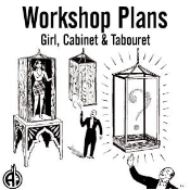 Girl, Cabinet & Tabouret Plans - Instant Download
