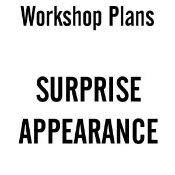 Surprise Appearance Plans - Electronic Download