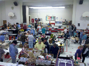 2015 Sellers Booth at the May 9th Flea Market & Auction