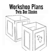 Twin Box Illusion Plans Instant Download