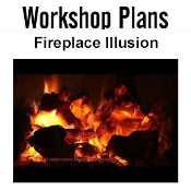 Fireplace Illusion Plans Instant Download