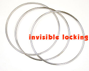 EXAMINABLE Linking Rings - Ultimate, 3 Ring Set