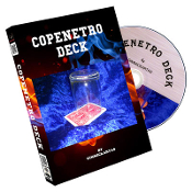 Copenetro Deck (Red or Blue) by Gimmickartas
