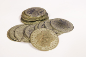 Palming Coins, Morgan Dollar version (20 pieces)