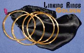 Linking Rings - Golden - Close-Up