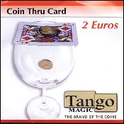 Coin thru Card 2 Euro by Tango