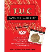 Tango Ultimate Coin (T.U.C) 50 cent Euro W/ instructional DVD