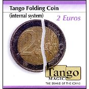 Folding Coin 2 Euro Internal System by Tango