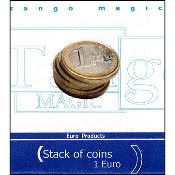 Stack of Coins (1 Euro) by Tango