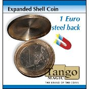 Expanded Shell Coin - 1 Euro (Steel Back) by Tango