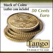 Stack of Coins 50 cent Euro by Tango