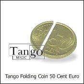 Folding Coin (50 Cent Euro - Internal System) by Tango