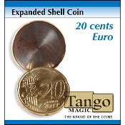 Expanded Shell Coin - 20 Cent Euro by Tango