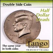 Double Side Half Dollar (Heads) by Tango