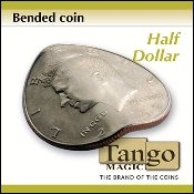 Bended Coin Half Dollar by Tango