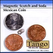 Scotch and Soda Magnetic Mexican Coin