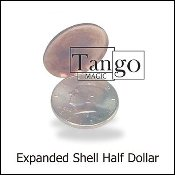 Expanded Shell Half Dollar (Two Sided)