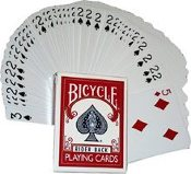 Forcing Deck - 1 Way Bicycle, Poker