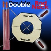 Double Rod thru Neck w/ Sheath