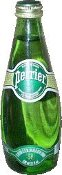 Airborne Perrier Bottle