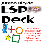 Marked Jumbo ESP Deck with Bonus ESP Book