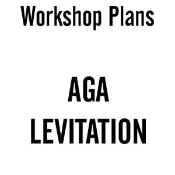 Aga Levitation Plans Instant Download
