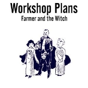 Farmer and Witch Plans - Instant Download