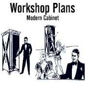 Modern Cabinet Plans - Instant Download