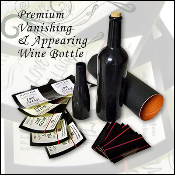 Premium Vanishing and Appearing Wine Bottle