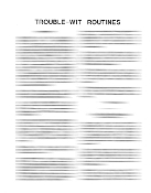 Instant Manuscript Download - TroubleWit Routines