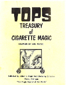 Instant Manuscript Download - Tops Treasury of Cigarette Magic