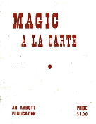 Instant Manuscript Download - Magic A La Carte