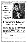 Abbotts First Catalog 1934