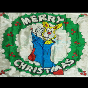 "Production Silk 16""x16"" (Merry Christmas) by Mr. Magic"