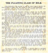 Instant Instruction Download - Floating Glass Of Milk