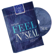 Feel N' Seal Blue (DVD and Gimmick) by Peter Eggink