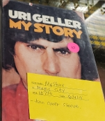 Irregular Book Sale - Uri Gellar My Story