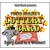 Lottery Card by Peter Eggink