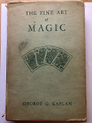 Gently Used Fine Art Of Magic Book