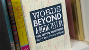 Words Beyond a Book Test
