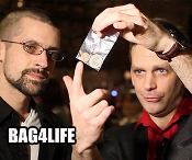 Bag4Life (25 CENT US Quarter and Online Instructions)