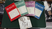 BOOK DEAL 3 - GREATER MAGIC LIBRARY VOL 1-4, 1945 LINKING RING