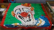Gently Used Clown Silk, 36-inch